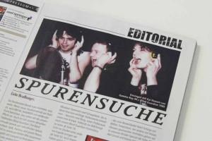METAL HAMMER Editorial 04/2105