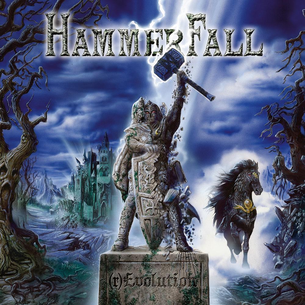 Hammerfall – Hector Seit 1999 ist Paladin Hector der sechste Mann bei Hammerfall. Seit GLORY TO THE BRAVE ziert der Hüne d