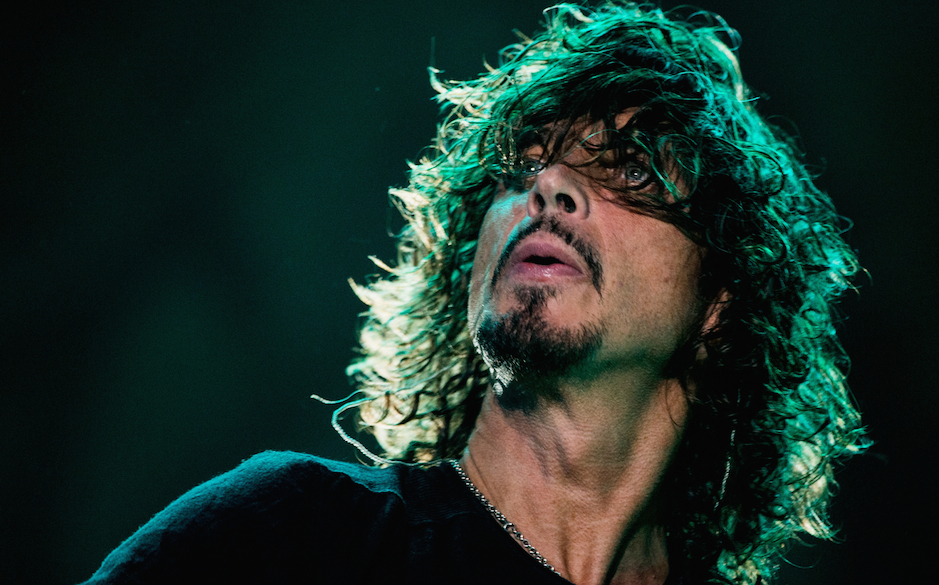 SAO PAULO, BRAZIL - APRIL 06: Chris Cornell of Soundgarden performs on stage during the 2014 Lollapalooza Brazil at Autodromo