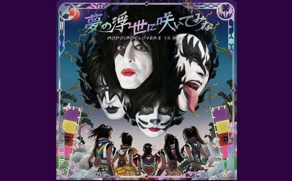 Kiss & Momoiro Clover Z YUME NO UKIYO NI SAITEMINA