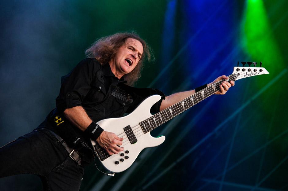 Megadeth live, Wacken Open Air 2014