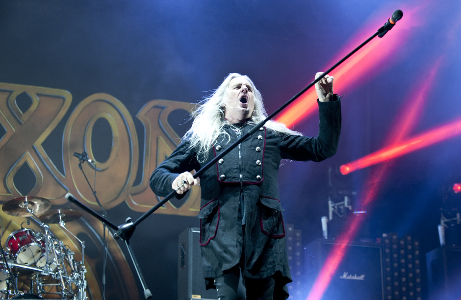Saxon live, Out & Loud Festival 2014 in Geiselwind