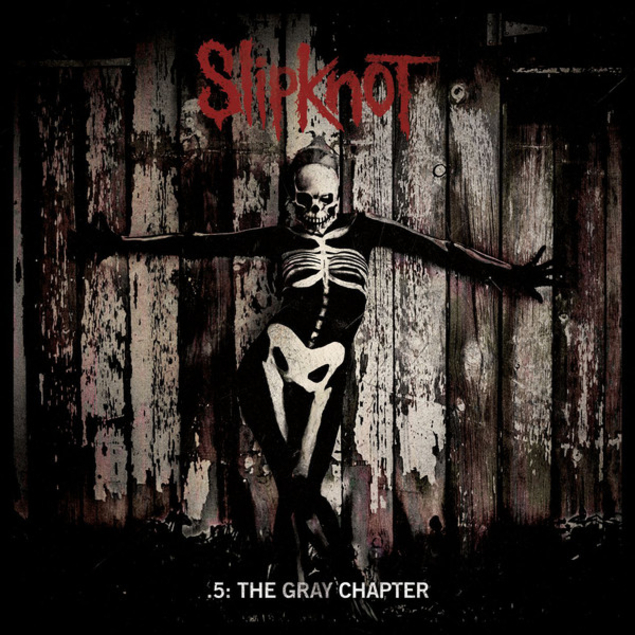 Slipknot aktuelles Album 5: THE GRAY CHAPTER (2014)