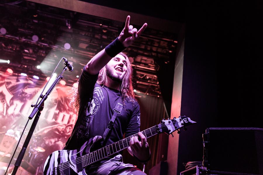 Sabaton live, 17.01.2015, Langen
