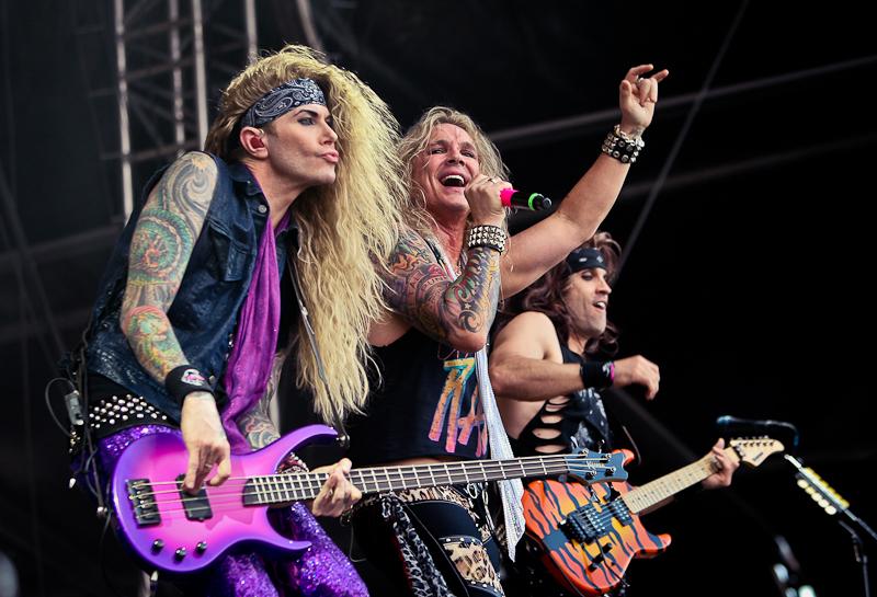 Steel Panther live, Nova Rock Festival 2014