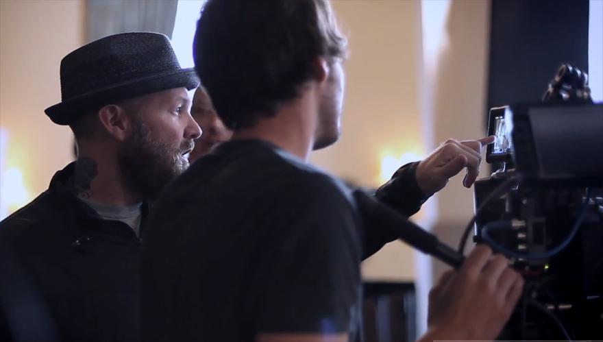 Fred Durst (Limp Bizkit) als Regisseur des eHarmony-Werbespots