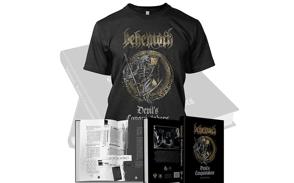 BEHEMOTH- DEVILS CONQUISTADORS-Edition mit T-Shirt