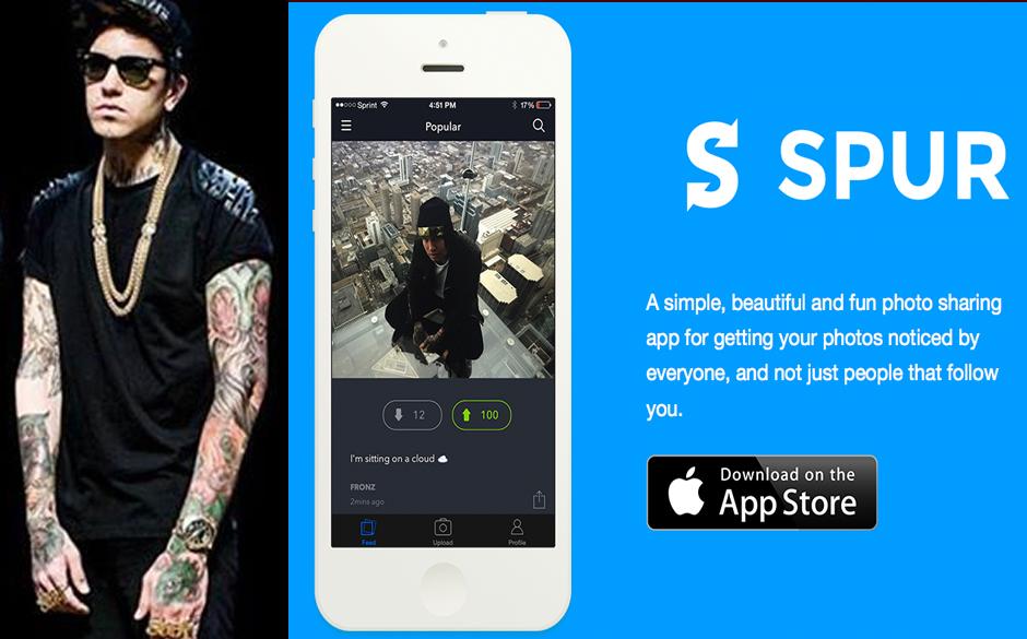 Chris Fronzak (Attila) & Social Media Foto-App Spur