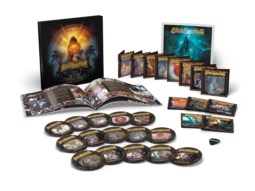 Blind Guardian Boxset A TRAVELER'S GUIDE TO SPACE AND TIME