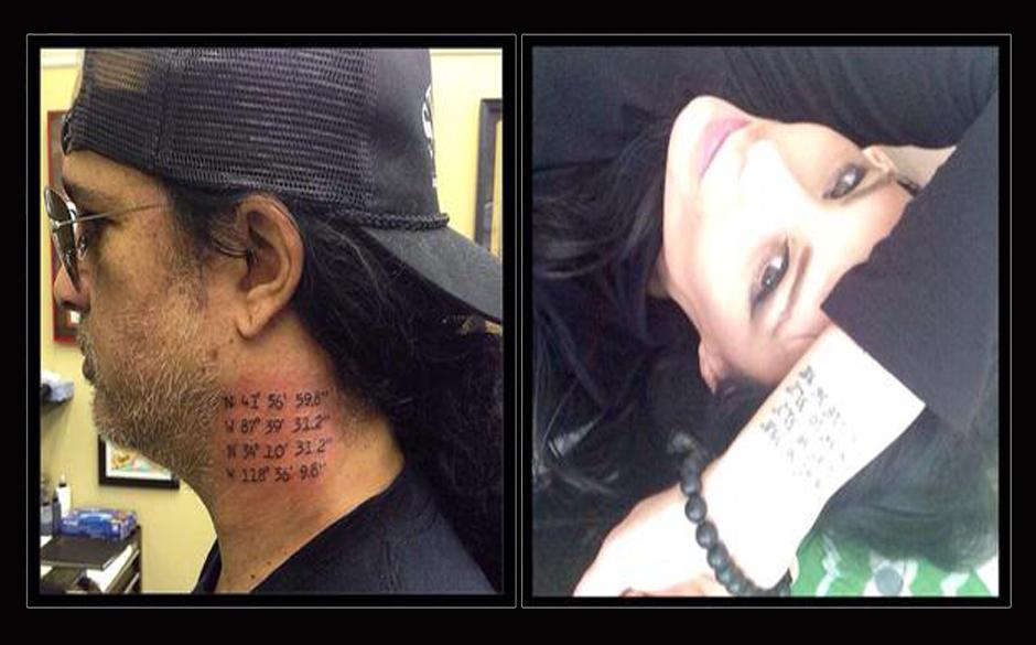 Slash und Meegan zeigen ihr 'Paar-Tattoo'