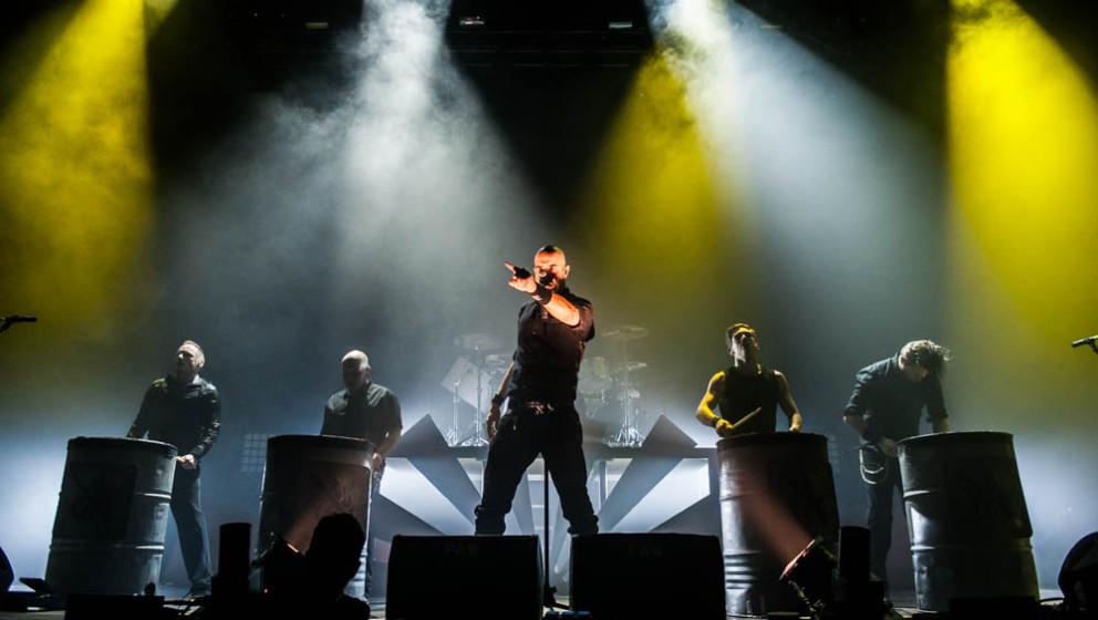 Eisbrecher live, Rock XM-Mas, 21.12.2013, Bamberg