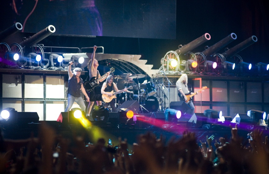AC/DC Live Promo Bild