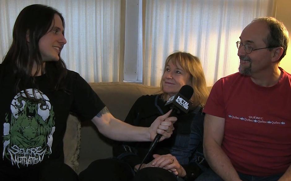 Schlagzeuger Phil Dubois (Revocation) interviewt seine Eltern Jean und Bill