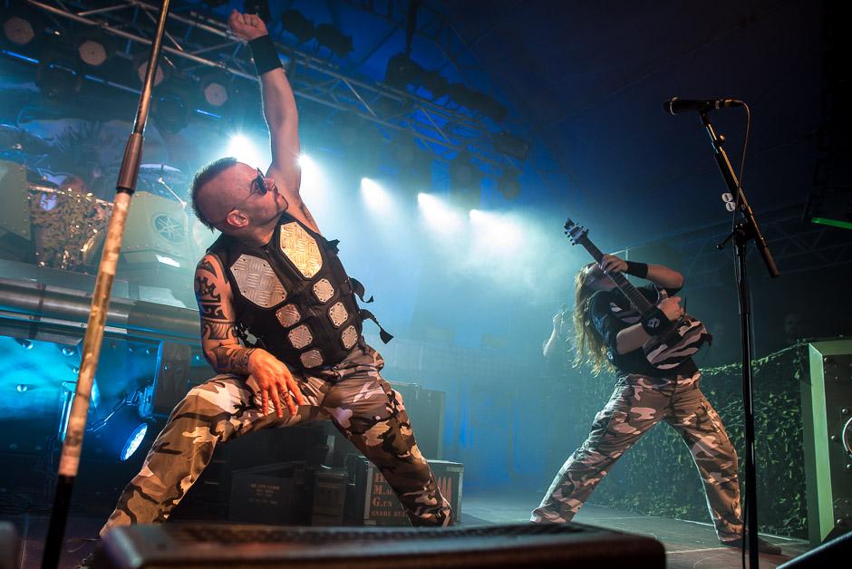 Sabaton live, 04.02.2015, München