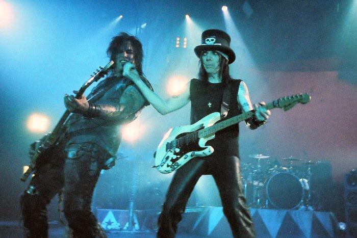 Nikki Sixx und Mick Mars, Mötley Crüe