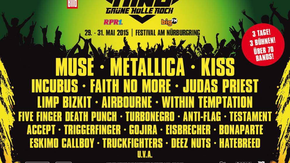 Grüne Hölle Rock: Die Bands
