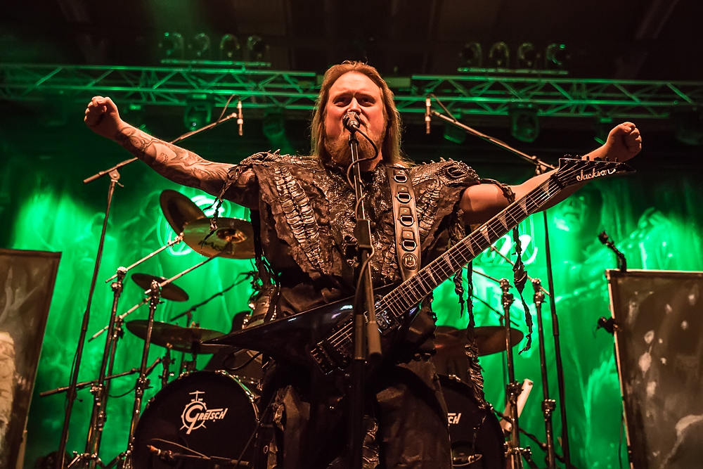 Orden Ogan live, 07.02.2015, Bamberg, Brose Arena