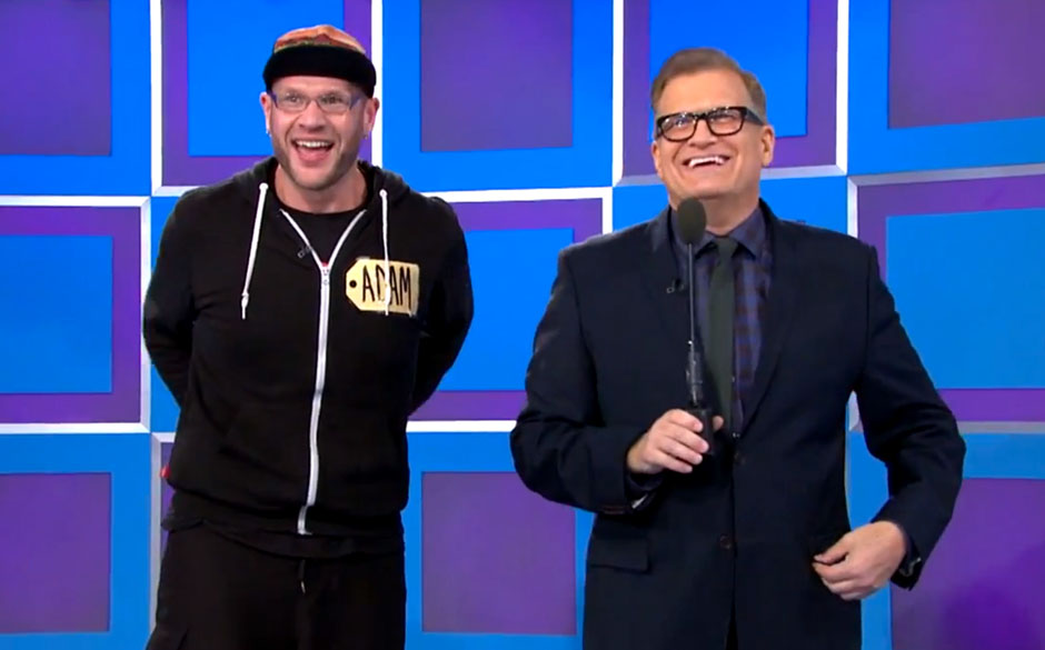 Adam Dutkiewicz (Killswitch Engage) bei 'The Price Is Right'