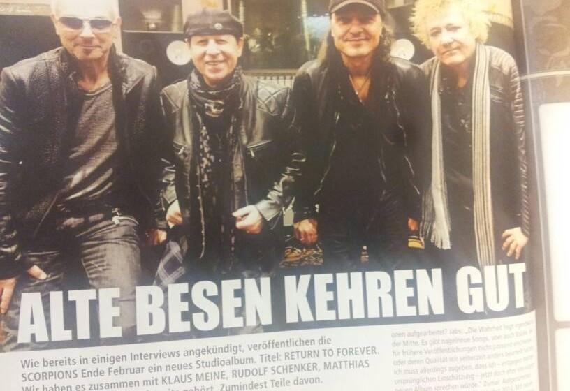 In der Galerie verraten wir euch Song für Song, wie das neue Scorpions-Album klingt >>>