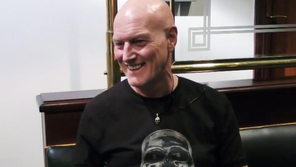 Neuzugang und Phil Rudd-Ersatz, Schlagzeuger Chris Slade