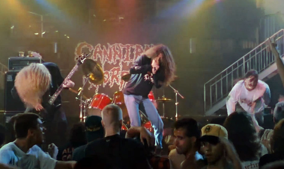 Cannibal Corpse-Cameo in 'Ace Ventura'