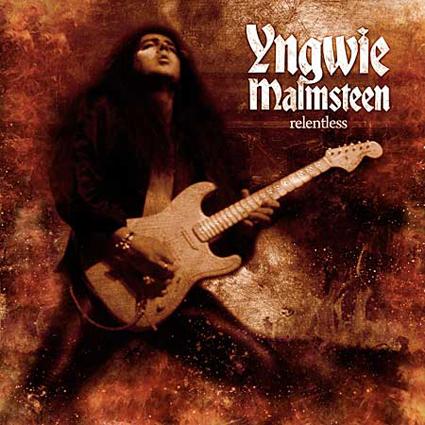 Yngwie Malmsteen - Relentless CD-Cover