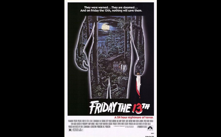 Freitag der 13. (1980) Original-Kinoplakat