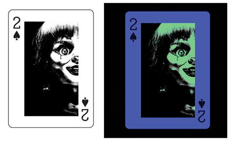 'Annabelle'-Kartenspiel