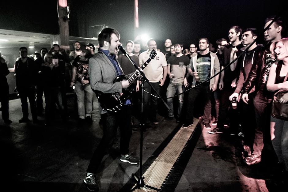 Enter Shikari live, 10.02.2015, Würzburg
