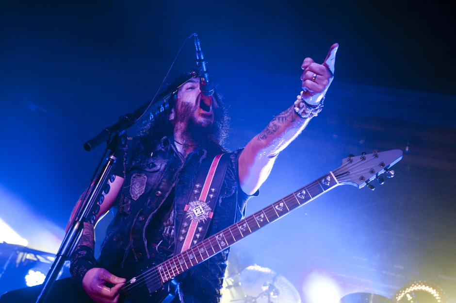Machine Head live, 03.12.2014, Hamburg