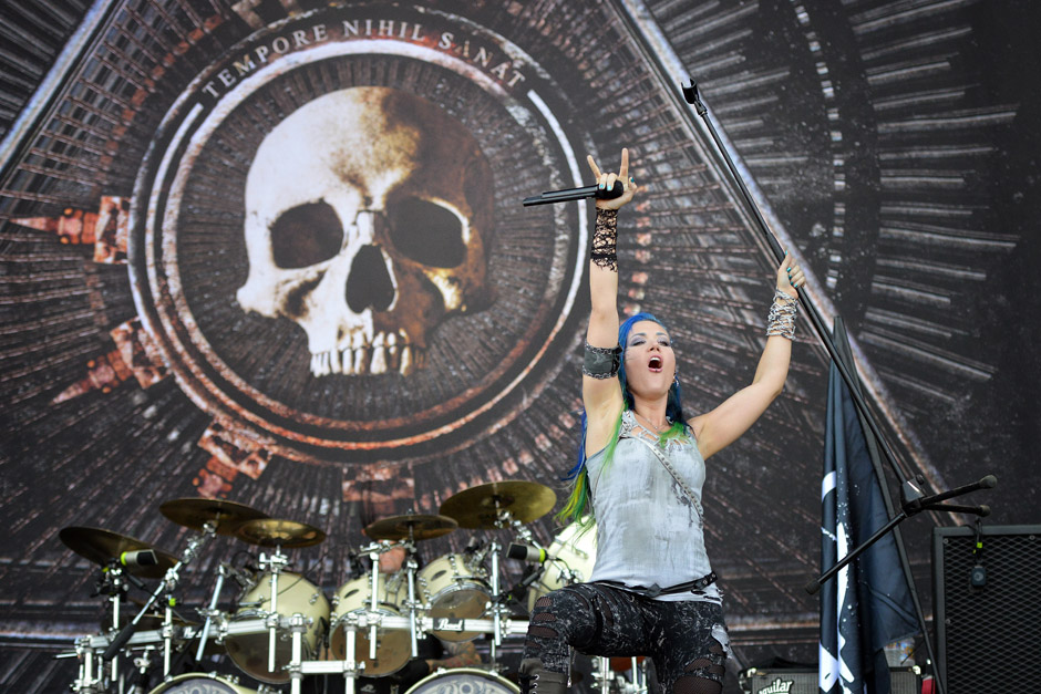 Arch Enemy live, Wacken Open Air 2014