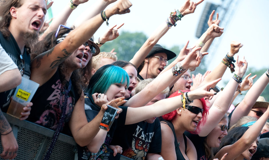 Fans und Atmo am Wacken Open Air 2014