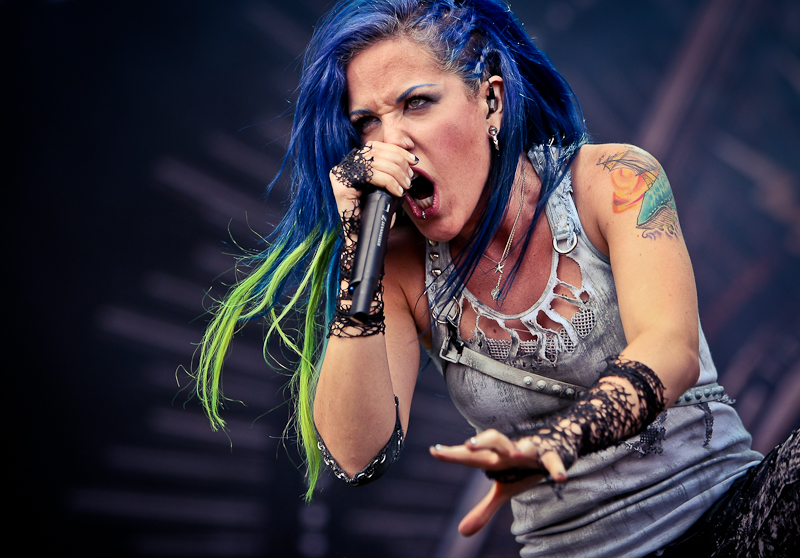 Arch Enemy live, Nova Rock Festival 2014