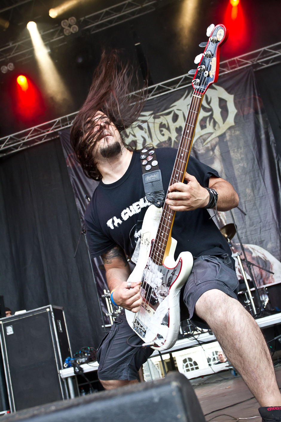 Benighted live, Extremefest 2012 in Hünxe