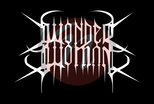 Wonder Woman Black Metal-Logo