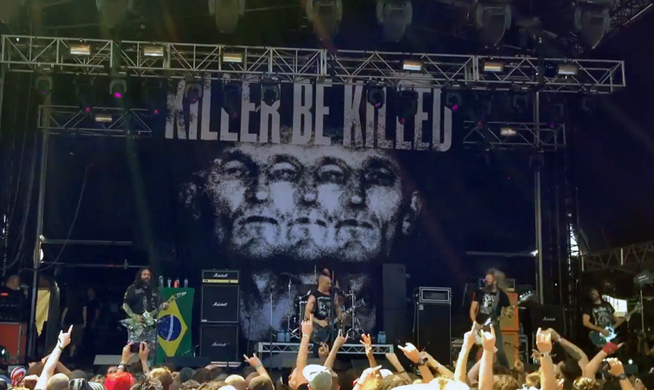 Killer Be Killed beim Soundwave Festival, 21. Februar 2015