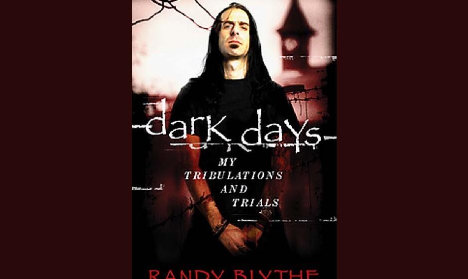 Randy Blythe-Autobiografie 'Dark Days- My Tribulations And Trials' (vorläufiges Cover)