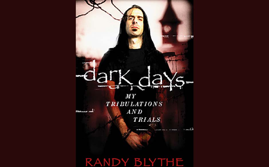 Randy Blythe-Autobiografie 'Dark Days- My Tribulations And Trials' (vorläufiges Cover)