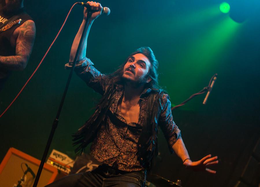 Crobot live, 24.02.2015, Frankfurt