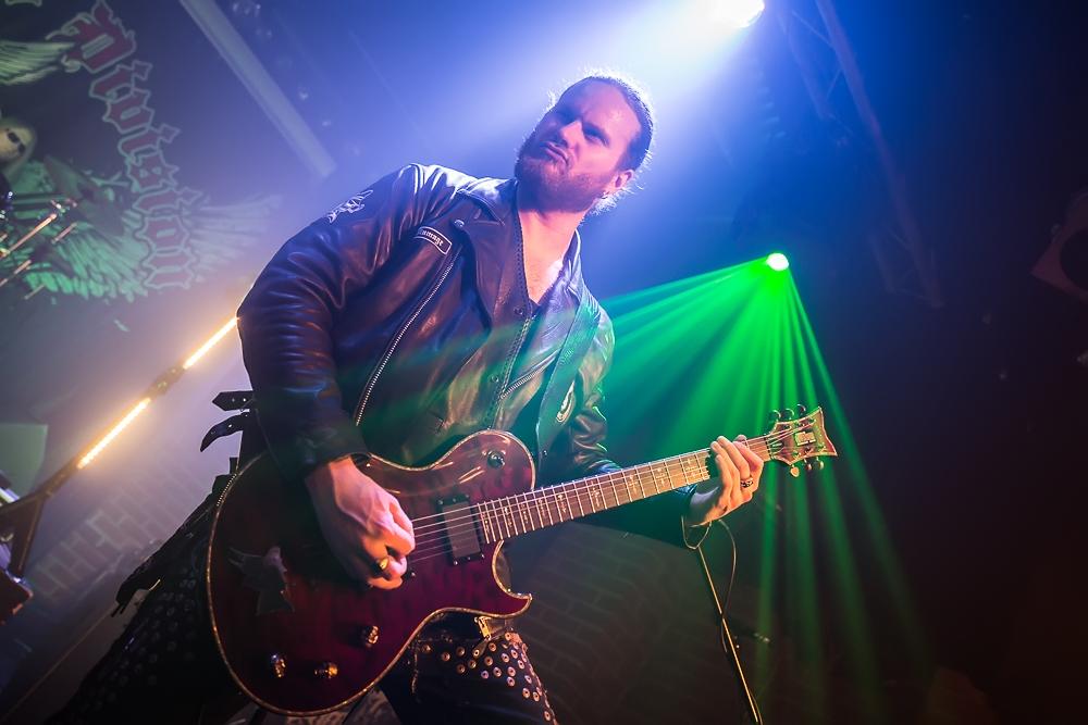 Chrome Division live, 26.02.2015, Nürnberg