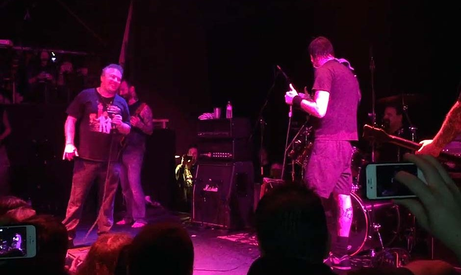 Jello Biafra (Jello Biafra & The Guantanamo School Of Medicine) & Napalm Death