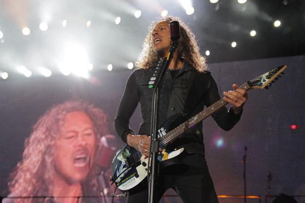 Metallica live bei Rock am Ring 2012