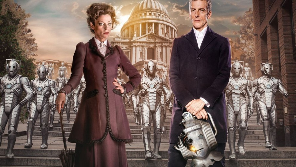Picture shows: Missy (MICHELLE GOMEZ) and The Doctor (PETER CAPALDI)
