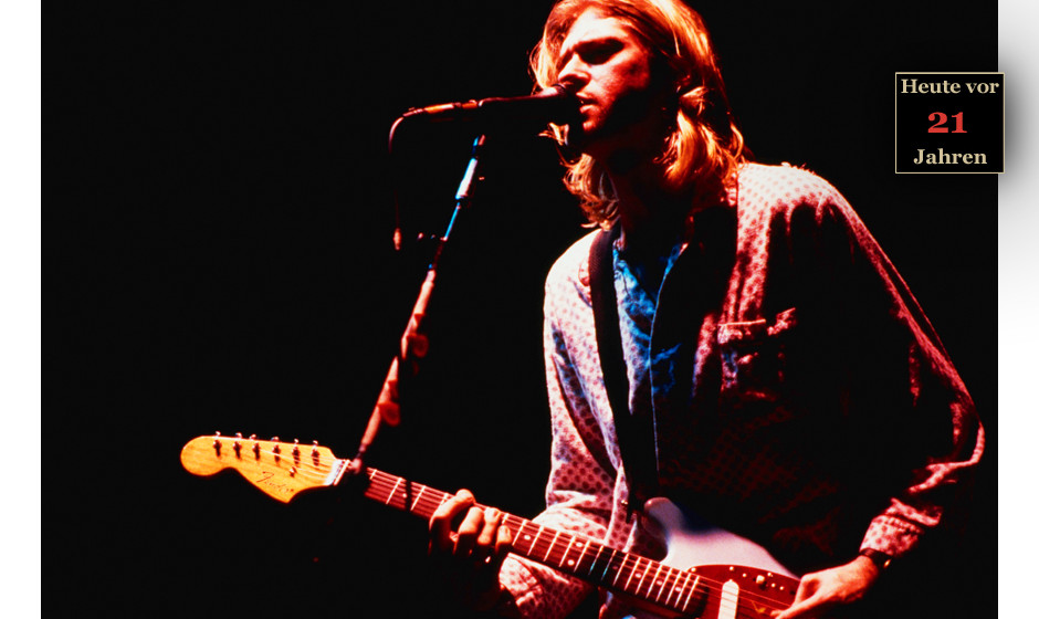 Kurt Cobain live
