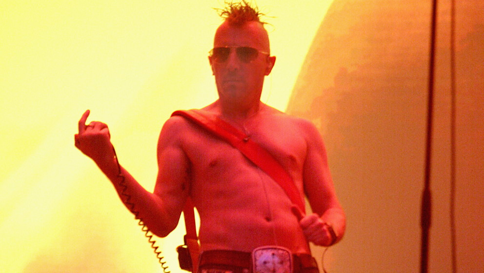 GERMANY - JUNE 03:  Photo of Maynard James KEENAN and TOOL; Maynard James Keenan playing live at Rock Im Park  (Photo by Sand