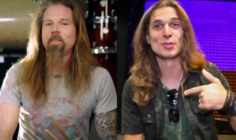 Chris Adler (Lamb Od God) & Kiko Loureiro (Angra)