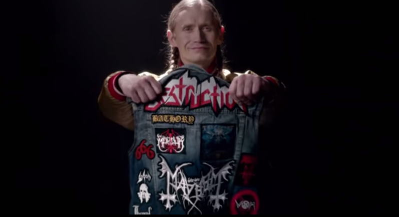 Romano im Video von 'Metalkutte'