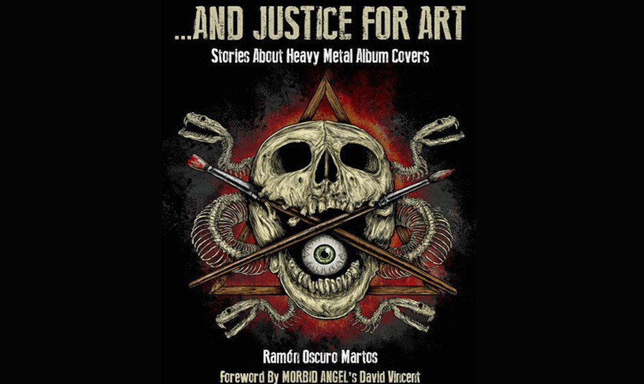 '...And Justice For Art: Stories About Heavy Metal Album Covers'