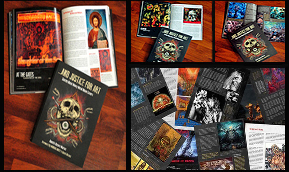 Einblicke in '…And Justice For Art: Stories About Heavy Metal Album Covers'
