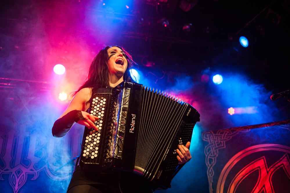 Ensiferum live, 11.3.2015, Bochum